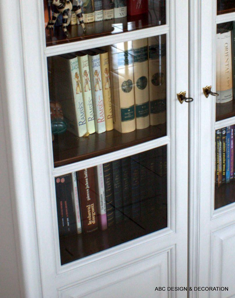 Relooking biblioth que meuble tv abc design d coration - Bibliotheque meuble tv ...